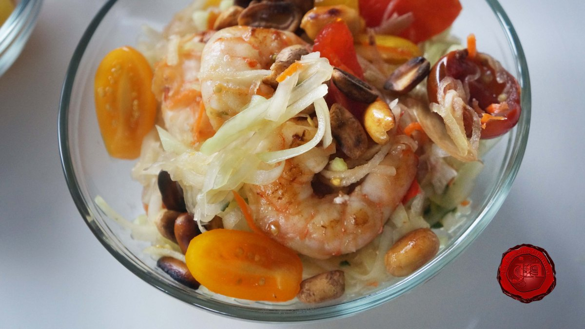 Jn Thai Inspired Green Papaya Salad Ft Kitchenaid Food